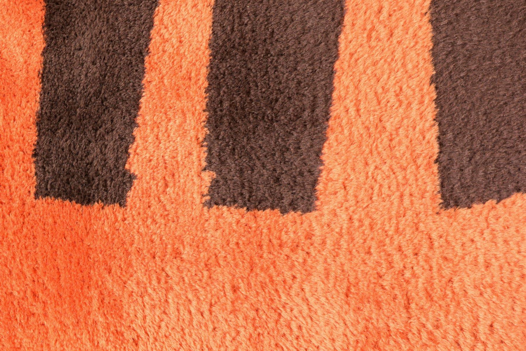 teppich aus wolle von louis de poortere 1970er bei pamono kaufen. Black Bedroom Furniture Sets. Home Design Ideas