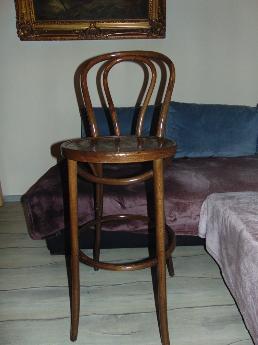 Vintage High Chair in Bentwood. Holiday Sale - Vintage High Chair In Bentwood For Sale At Pamono
