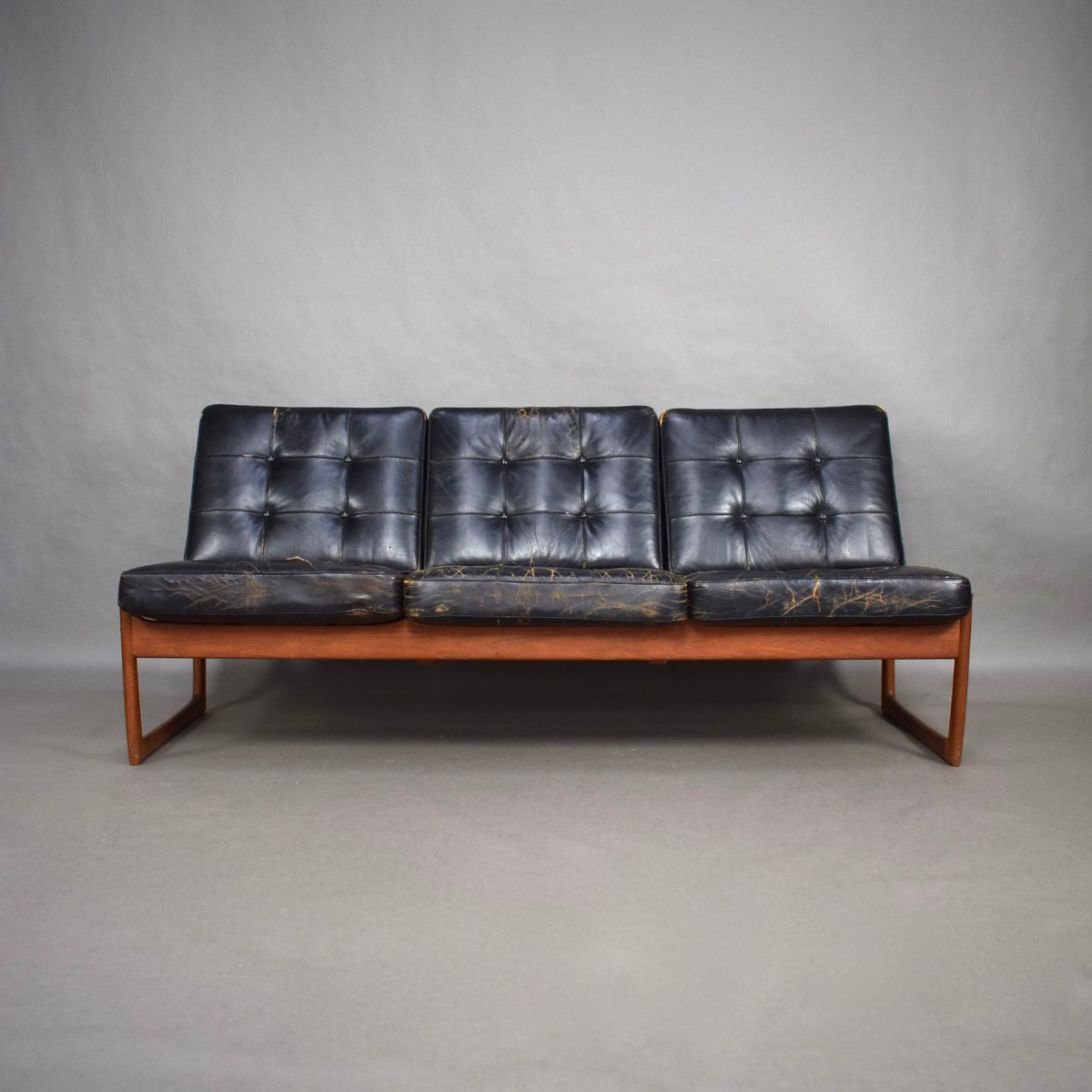 66e5355aef0a0 Model FD130 Sofa by Peter Hvidt and Orla Mølgaard-Nielsen for France   Søn