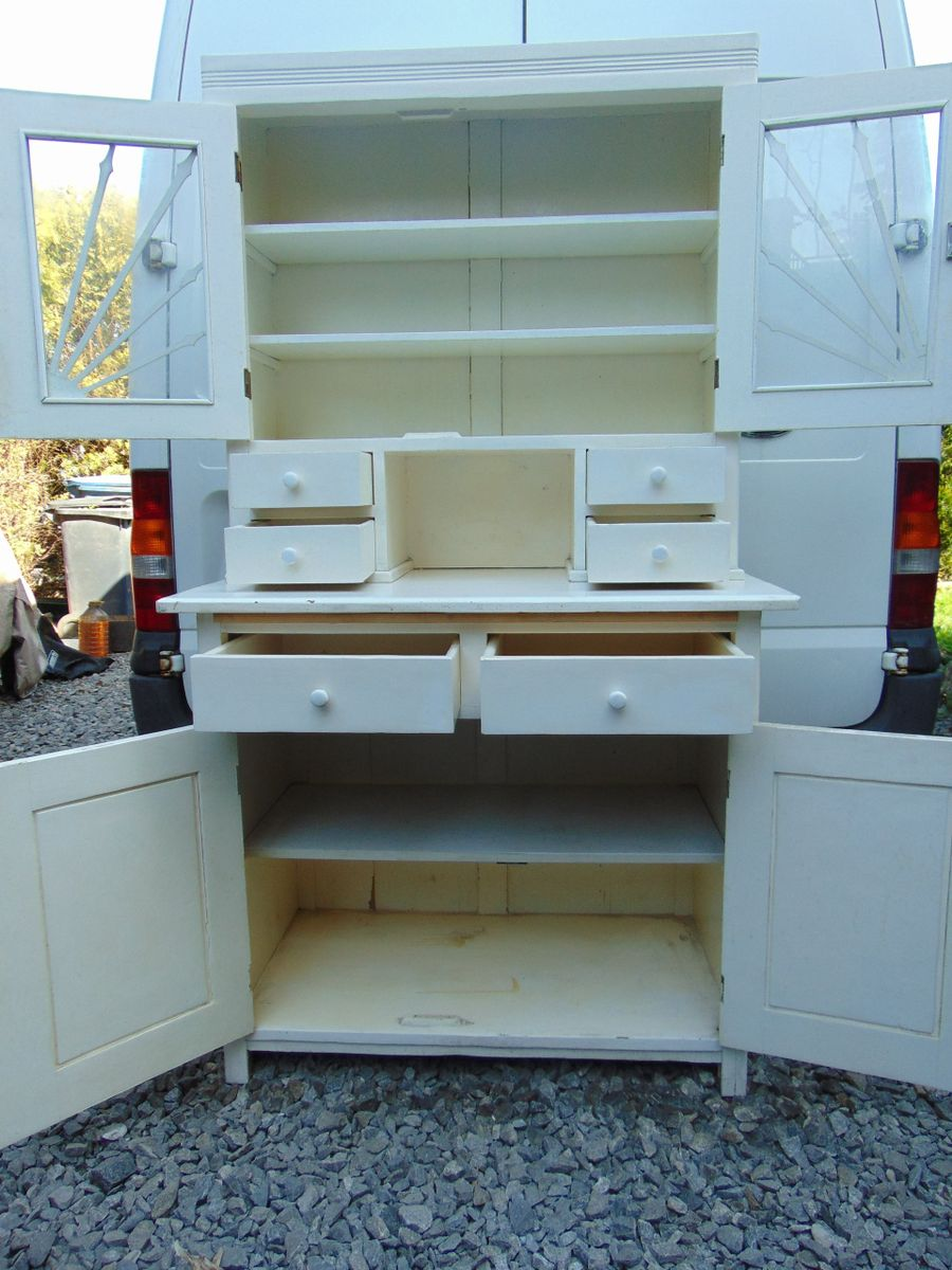 Antique Kitchen Cupboard for sale at Pamono