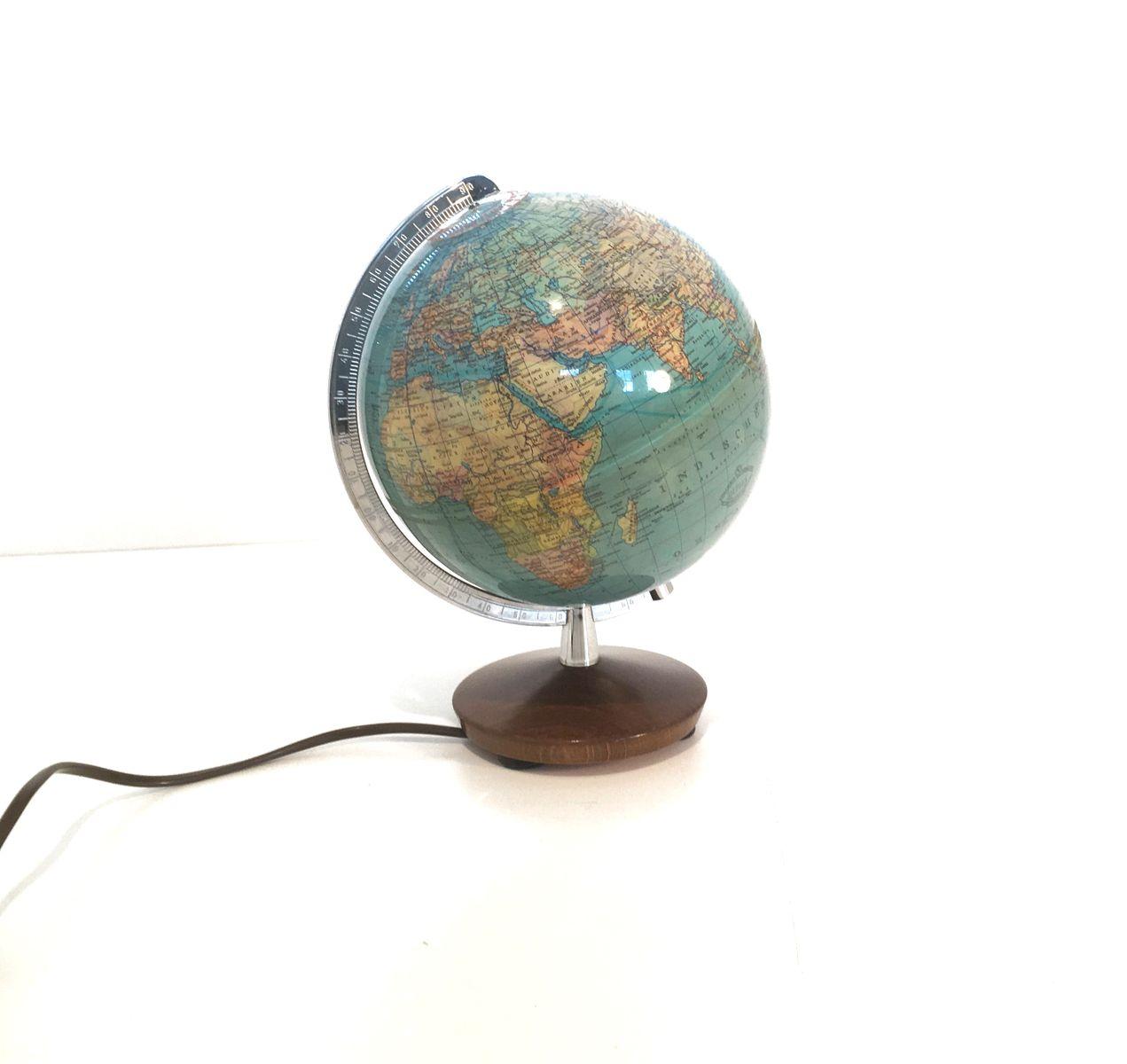 Ekstra Vintage Globus Lampe von Columbus bei Pamono kaufen IB26
