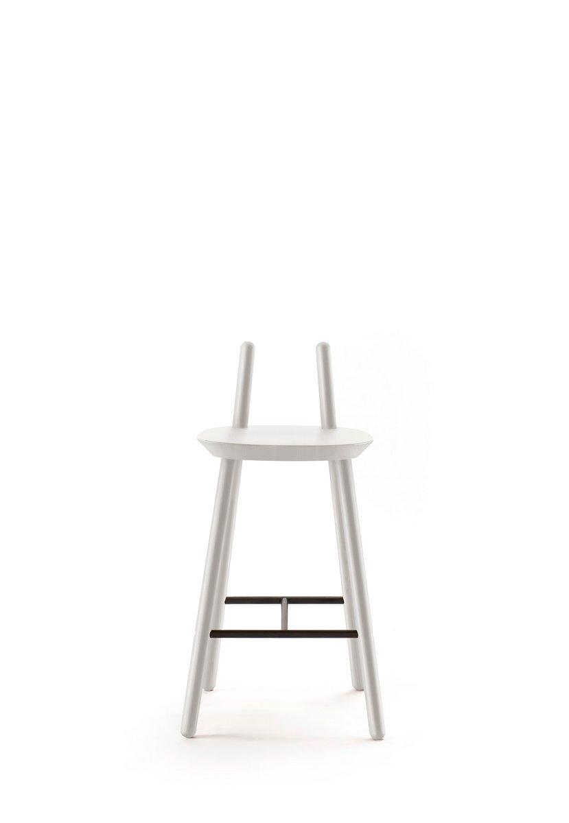 Grauer Naïve Semi Bar Chair von etc.etc. für Emko   Küche und Esszimmer > Bar-Möbel > Bars   Grau   Emko