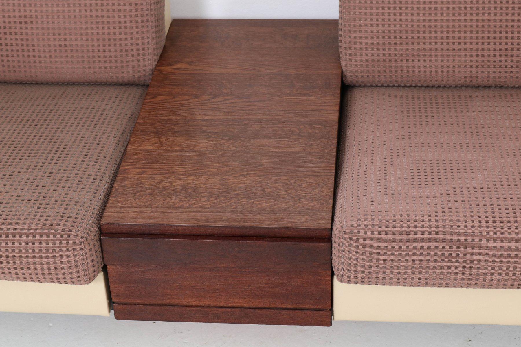 mid century modell pluraform modern sofas mit wenge couchtische von rolf benz 1964 bei pamono. Black Bedroom Furniture Sets. Home Design Ideas
