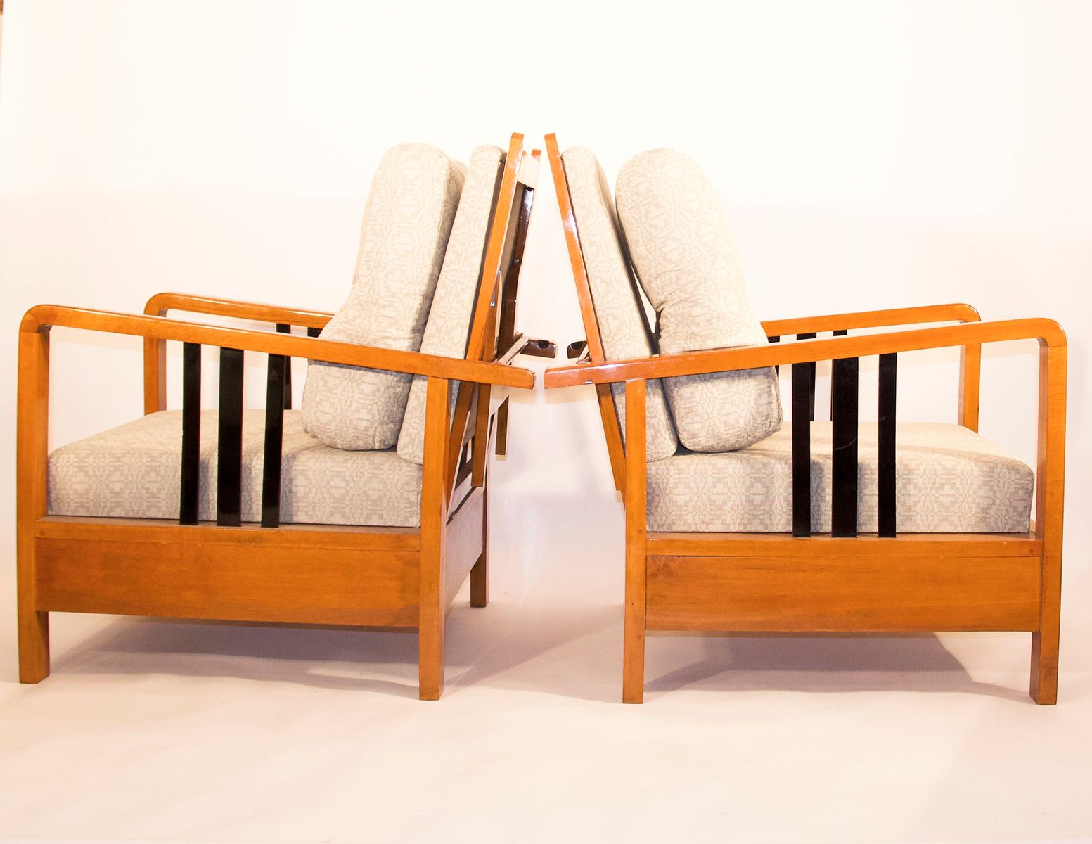 Art deco lounge chair s for sale at pamono