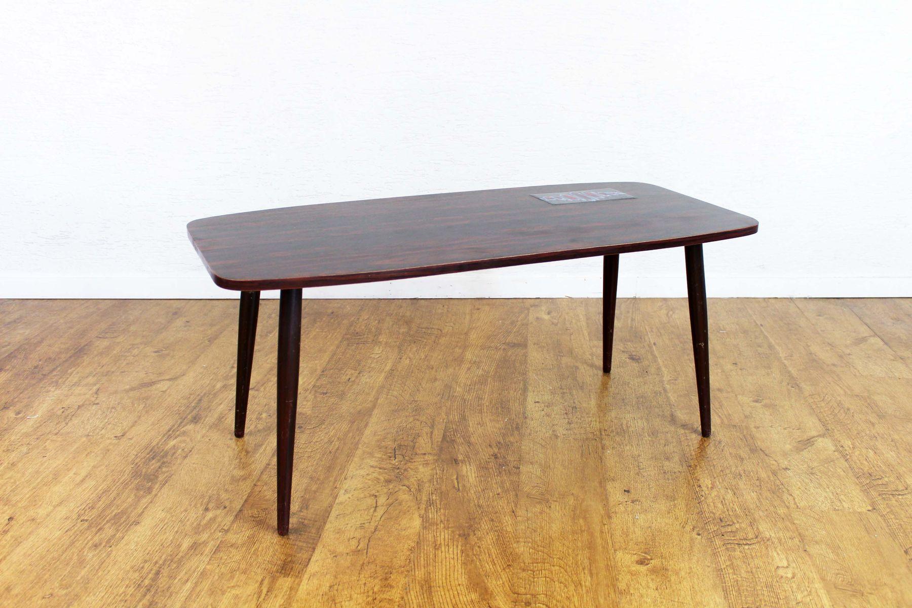 Vintage Ceramic Tile Coffee Table
