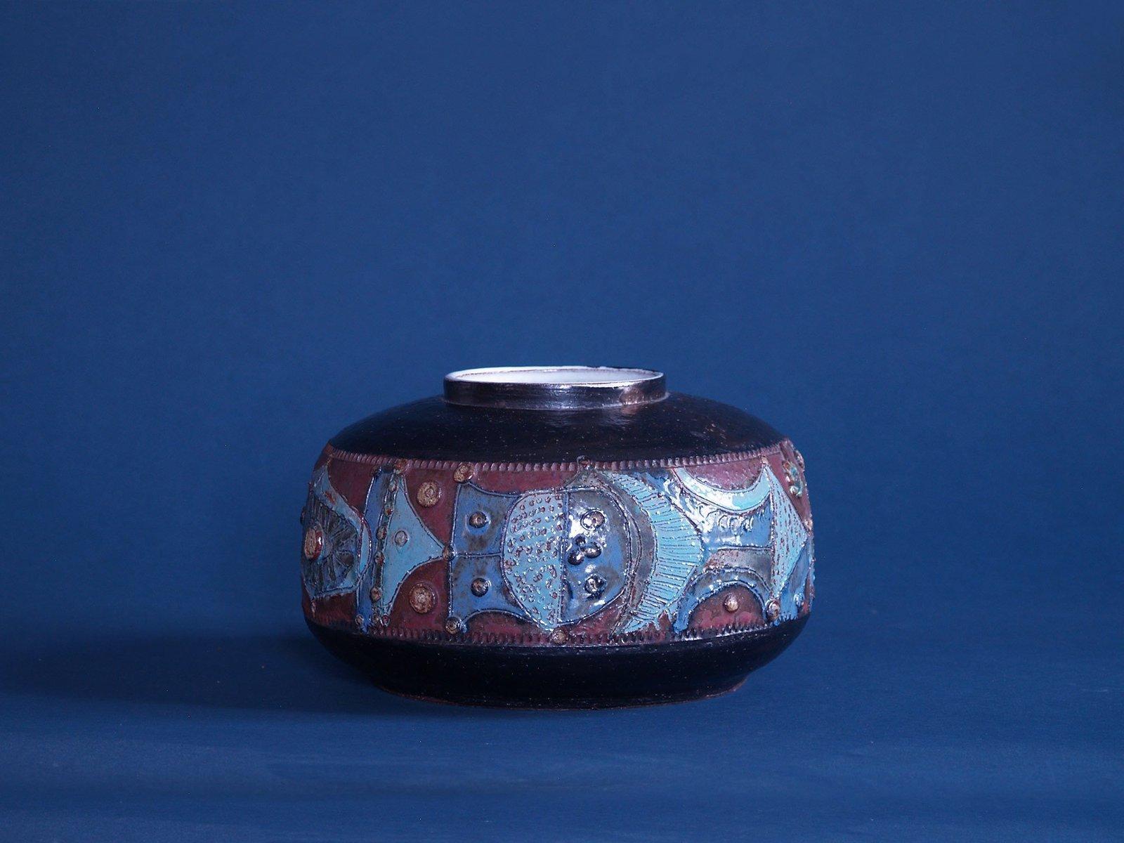 Große Vase von Rogier Vandeweghe für Amphora, 1...