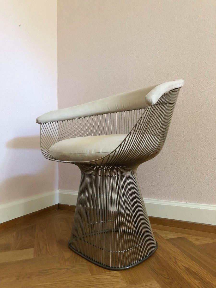 d505d9b4770d2 Dining Chairs by Warren Plattner for Knoll