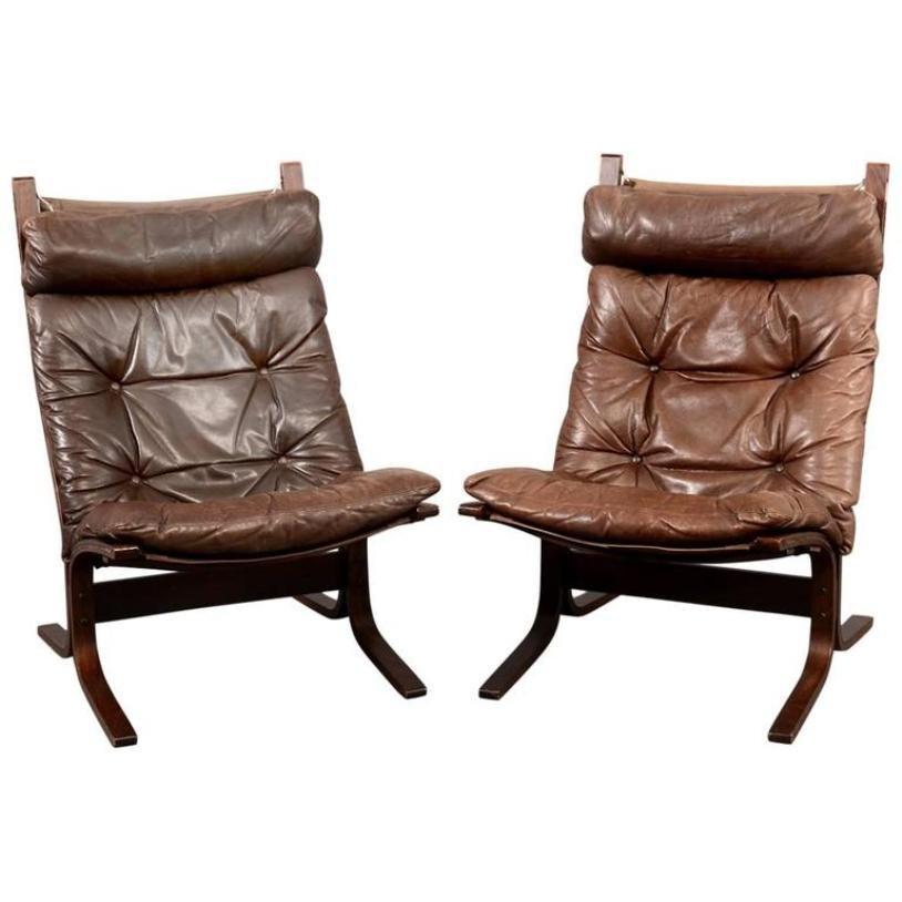 Skandinavische Vintage Siesta Sessel Von Ingmar Relling Fur Westnofa