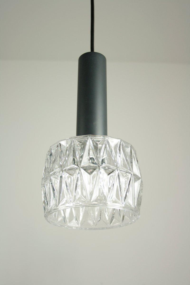 Modell 4025-134 Hängeleuchte in Glas & Chrom von Hillebrand Lighting, ...