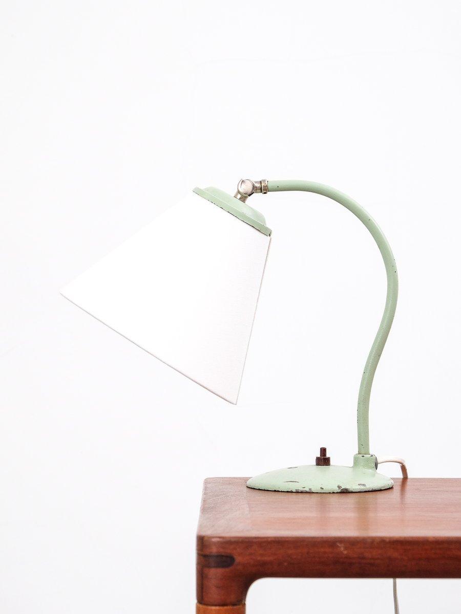 Modell 5228 Tischlampe in Mintgrün von Oy Taito Ab, 1950er