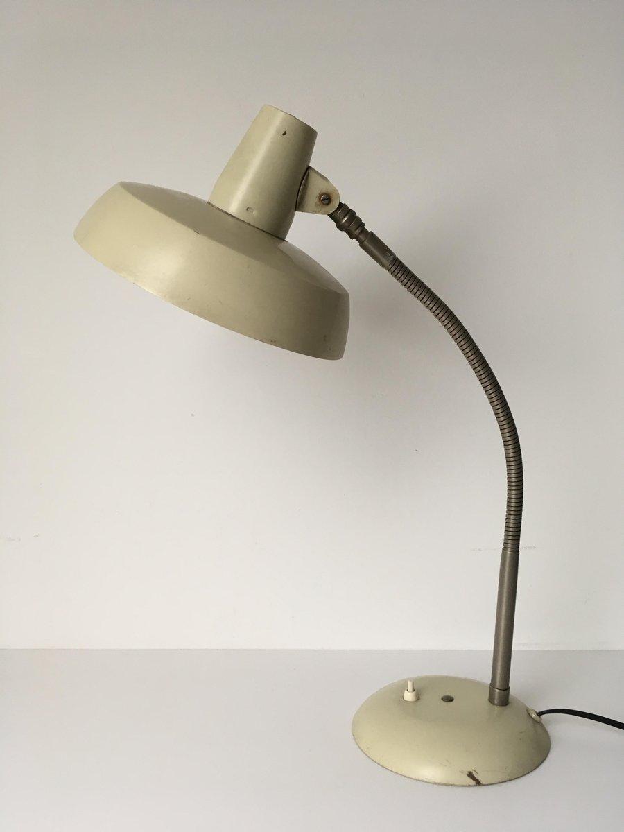 Vintage Industrie Schreibtischlampe von SIS, 1950er