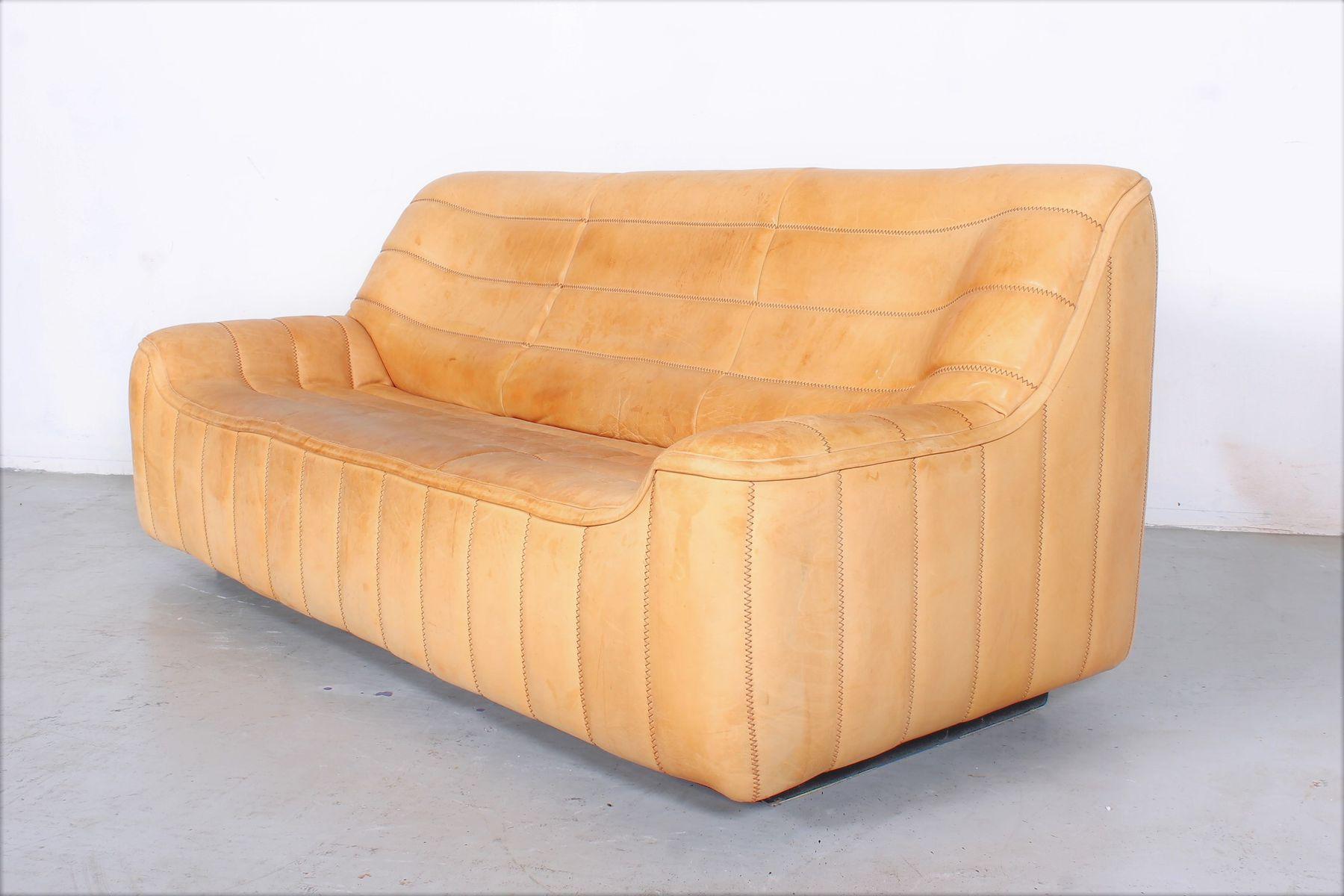Vintage ds84 3 sitzer sofa von de sede bei pamono kaufen for Sofa 7 sitzer
