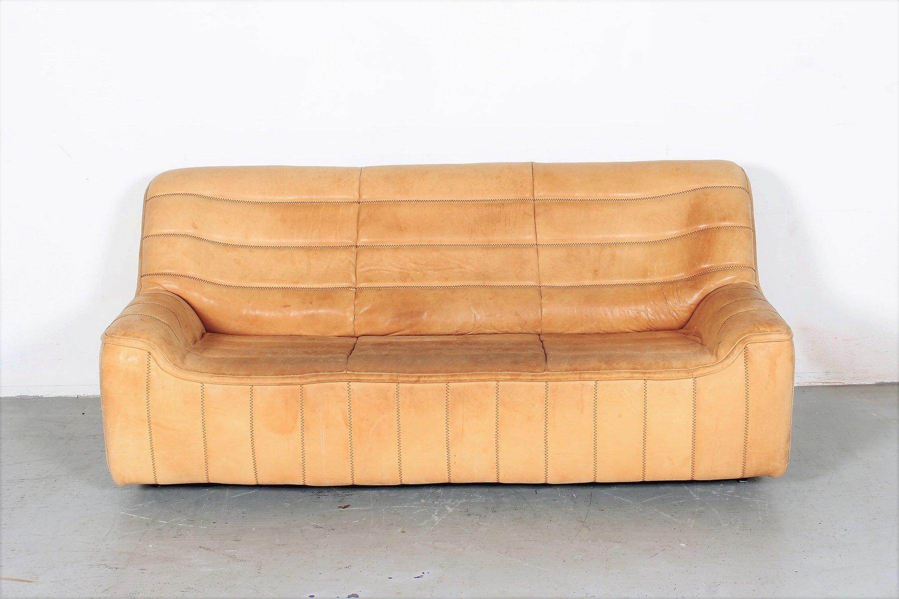 Vintage DS84 3-Sitzer Sofa von de Sede