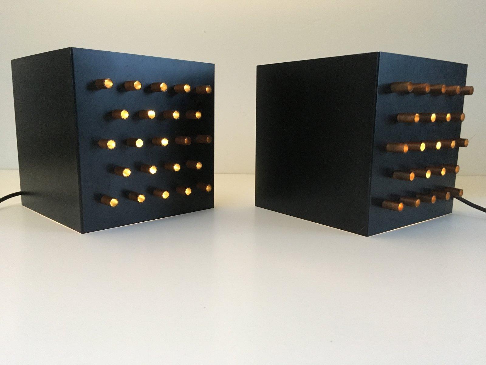 Modell Clair Obscur Wandlampen von Raak, 1960er, 2er Set