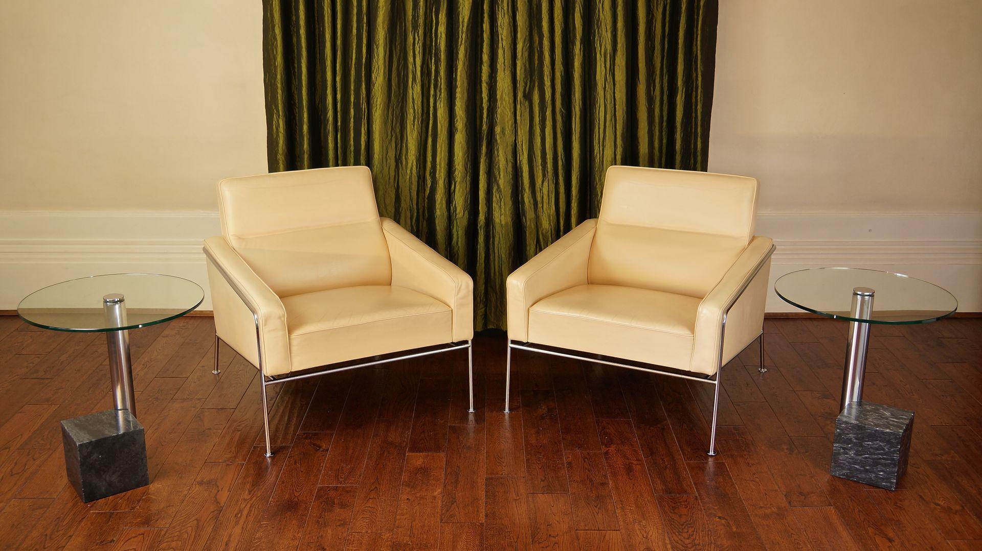 tables d 39 appoint en marbre et verre par hank kwint pour metaform 1980s set de 2 en vente sur. Black Bedroom Furniture Sets. Home Design Ideas