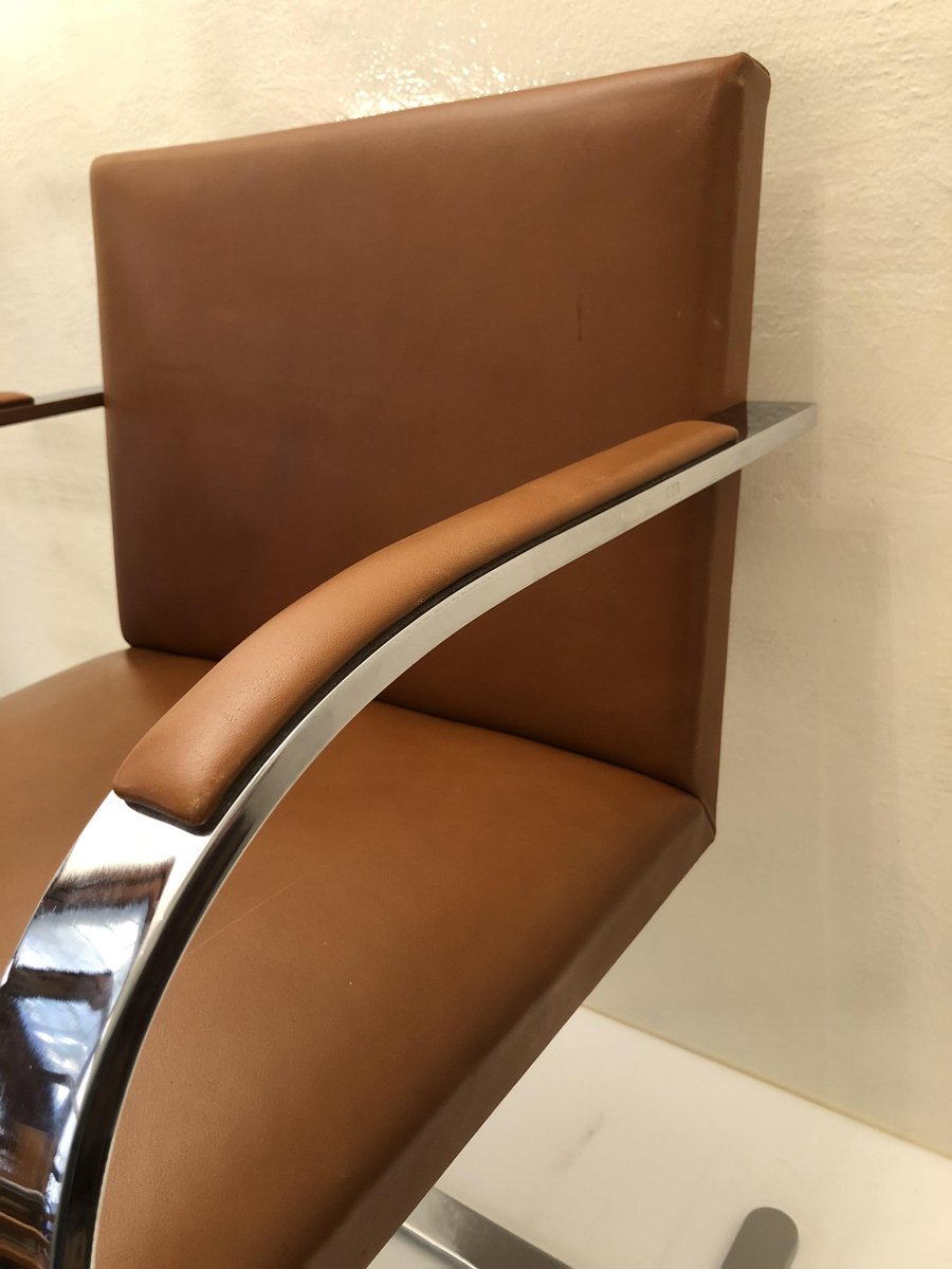 brno chair von ludwig mies van der rohe f r knoll 1970er bei pamono kaufen. Black Bedroom Furniture Sets. Home Design Ideas