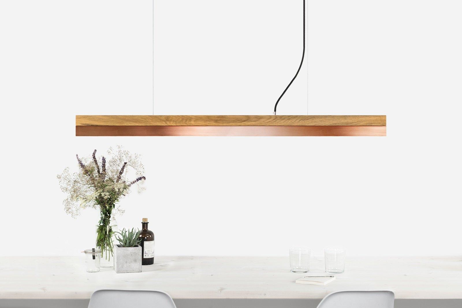 Dimmbare Kupfer [C1o] LED Hängelampe von Stefan Gant für GANTlights