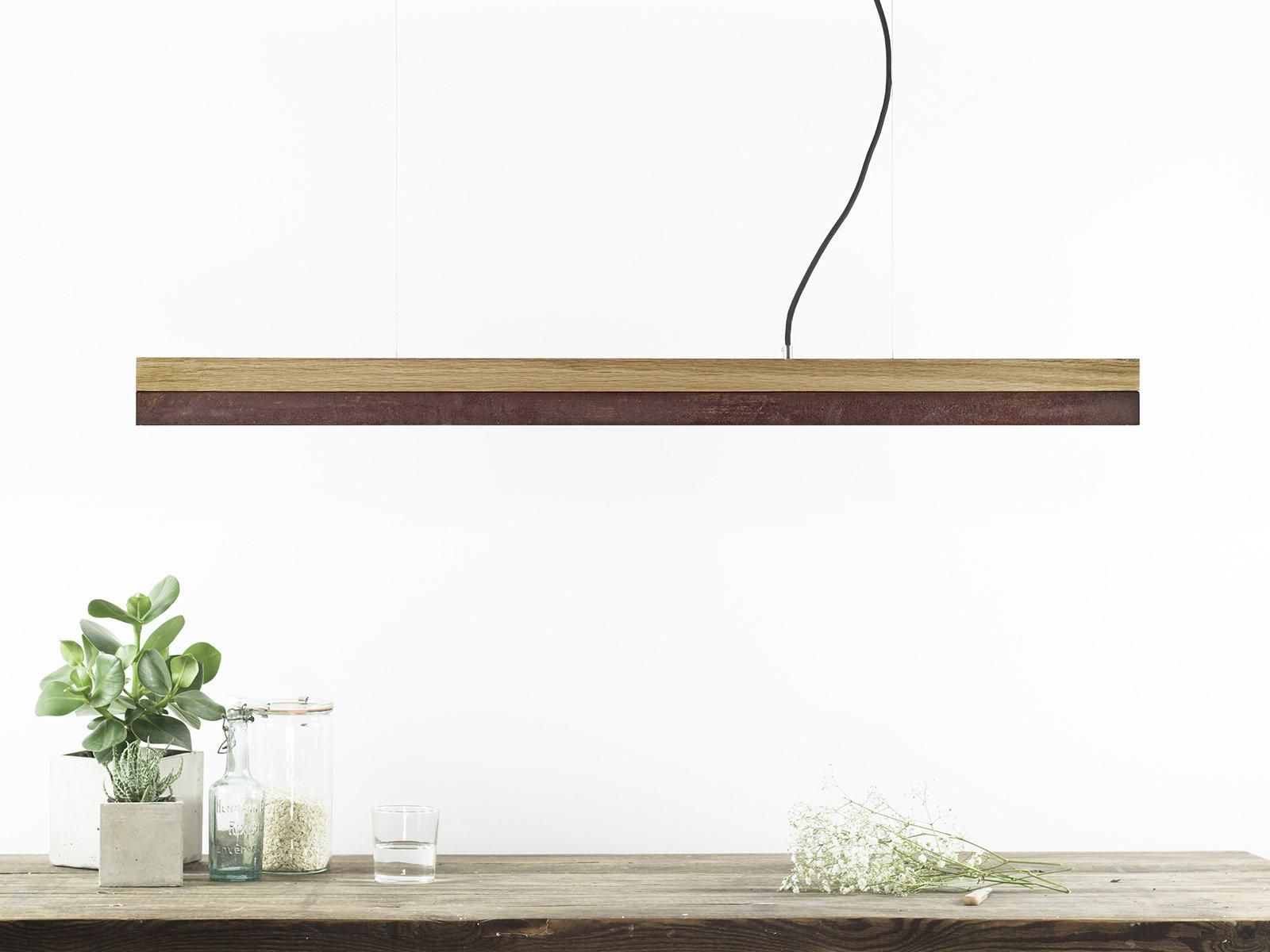 Dimmbare Corten Stahl [C1o] LED Hängelampe von Stefan Gant für GANTlig...