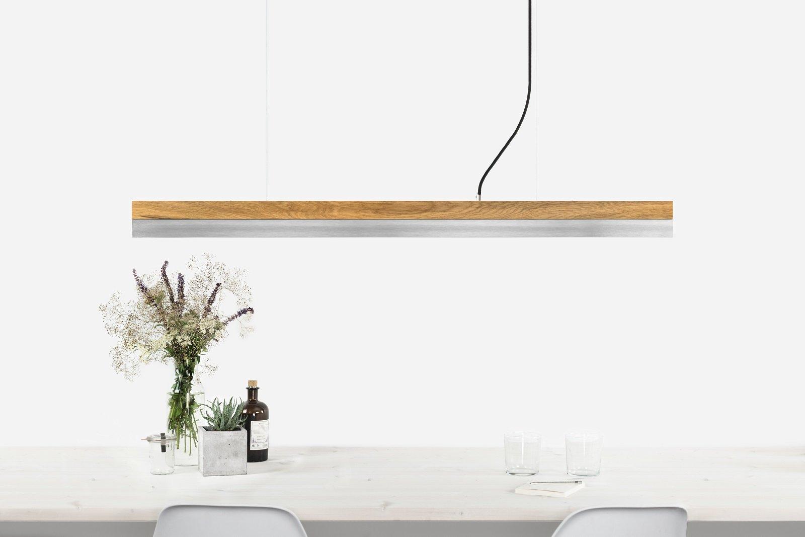Dimmbare Edelstahl [C1o] LED Hängelampe von Stefan Gant für GANTlights