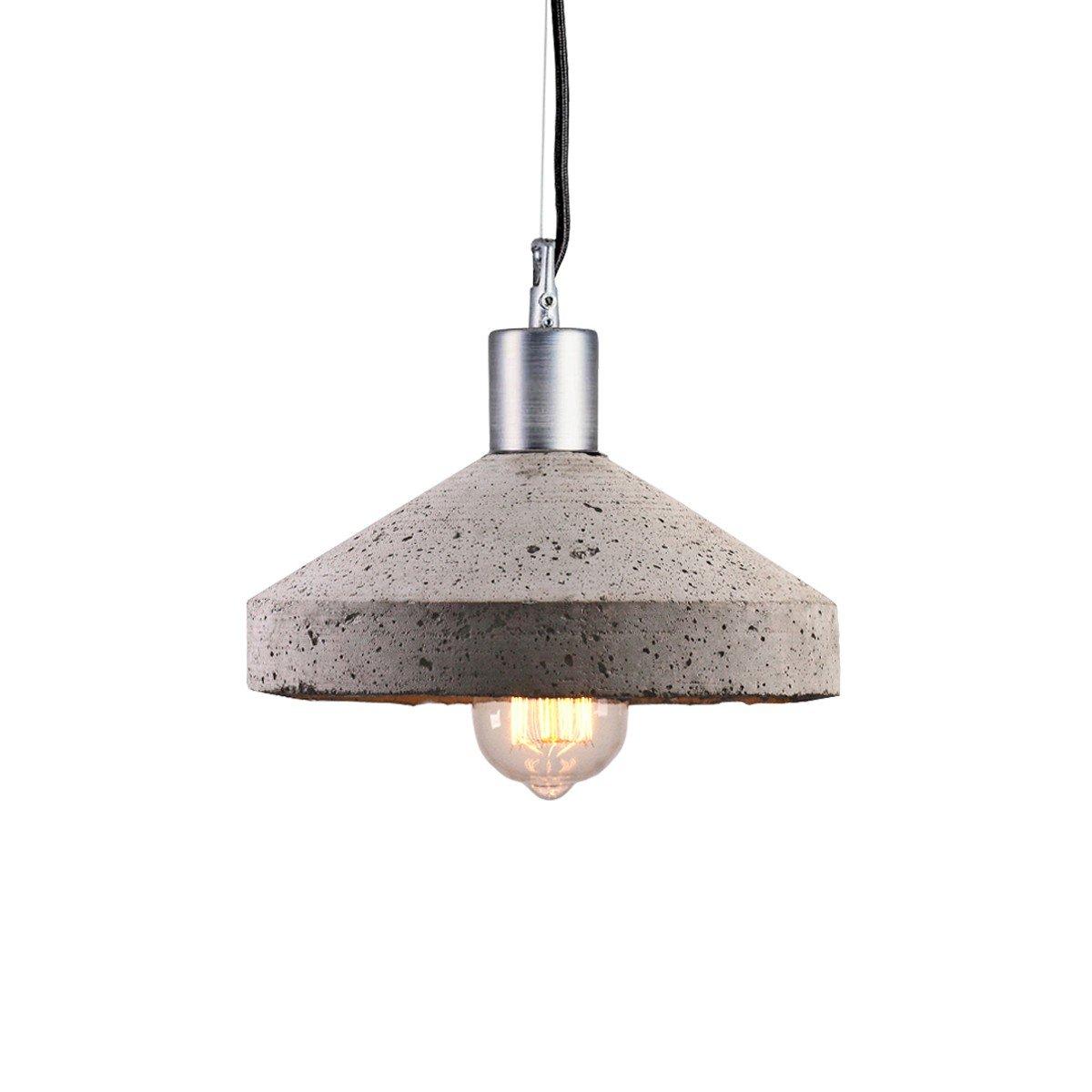 Rocket Deckenlampe aus grauem Zement von Bogumi? Gala für Galaeria Fac...