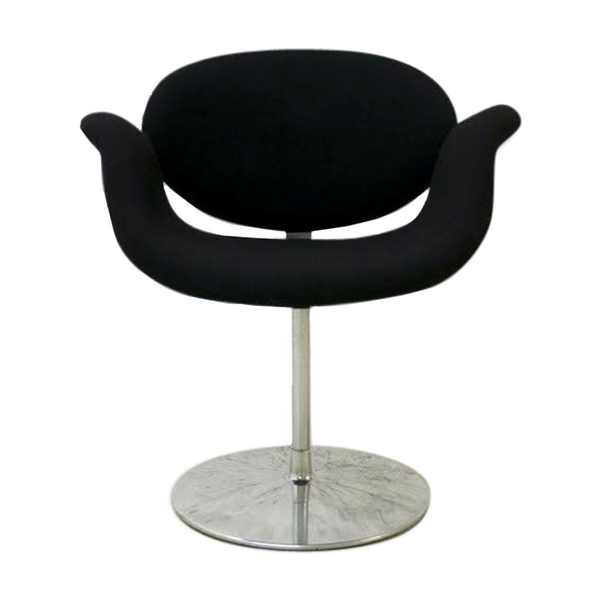 petit fauteuil tulipe par pierre paulin pour artifort en. Black Bedroom Furniture Sets. Home Design Ideas