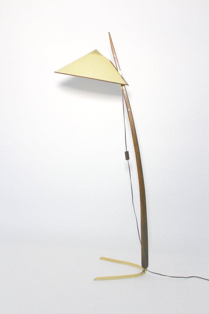 Mid-Century Modern Standleuchte von Rupert Nikoll, 1950er