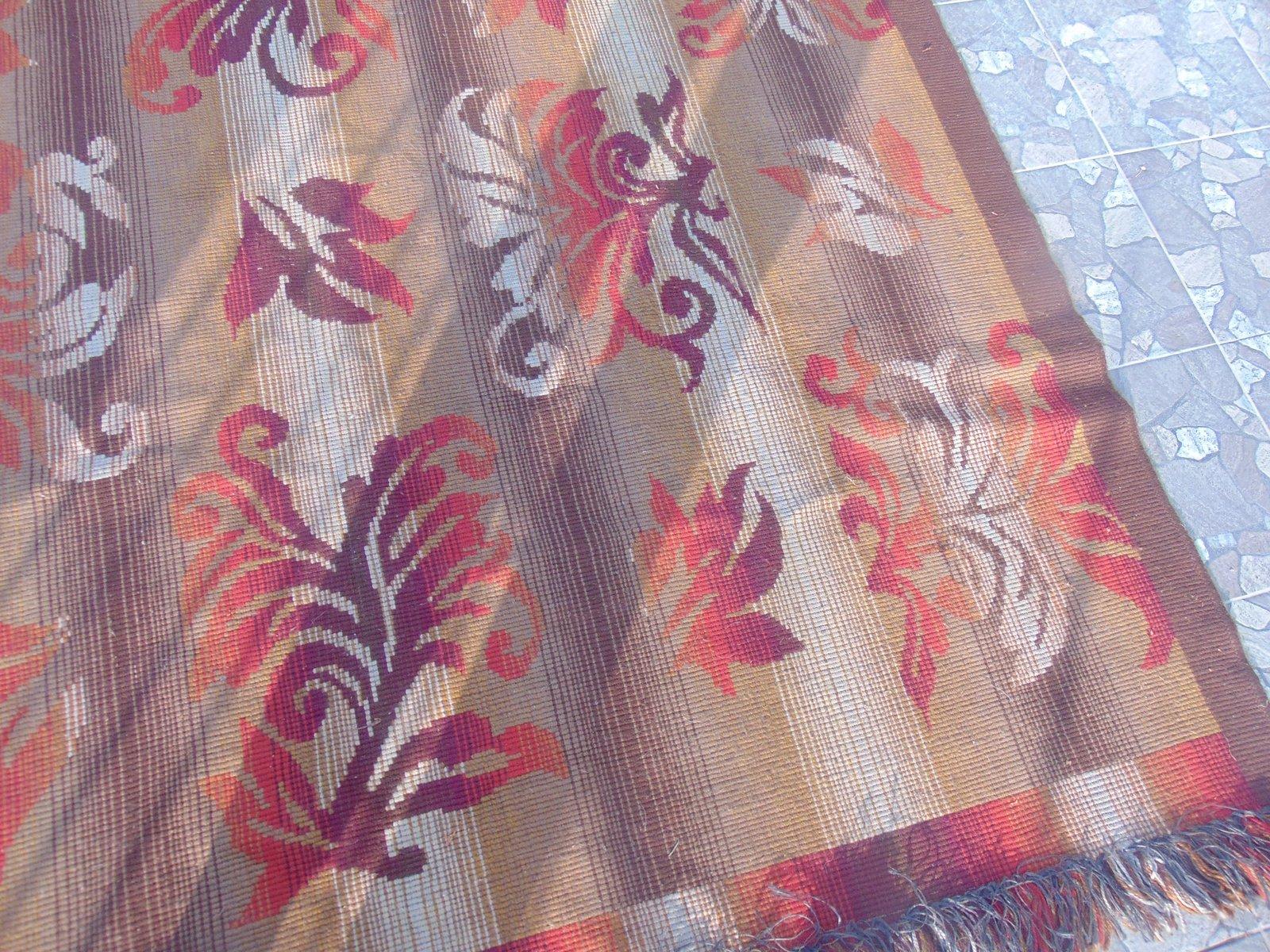 polnischer art deco teppich bei pamono kaufen. Black Bedroom Furniture Sets. Home Design Ideas