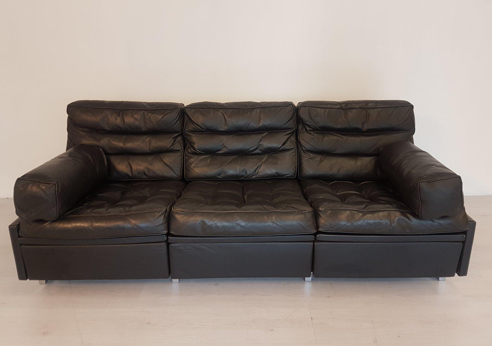 ds 3a 3 sitzer new yorker sofa ottomane von de sede 1970er bei pamono kaufen. Black Bedroom Furniture Sets. Home Design Ideas
