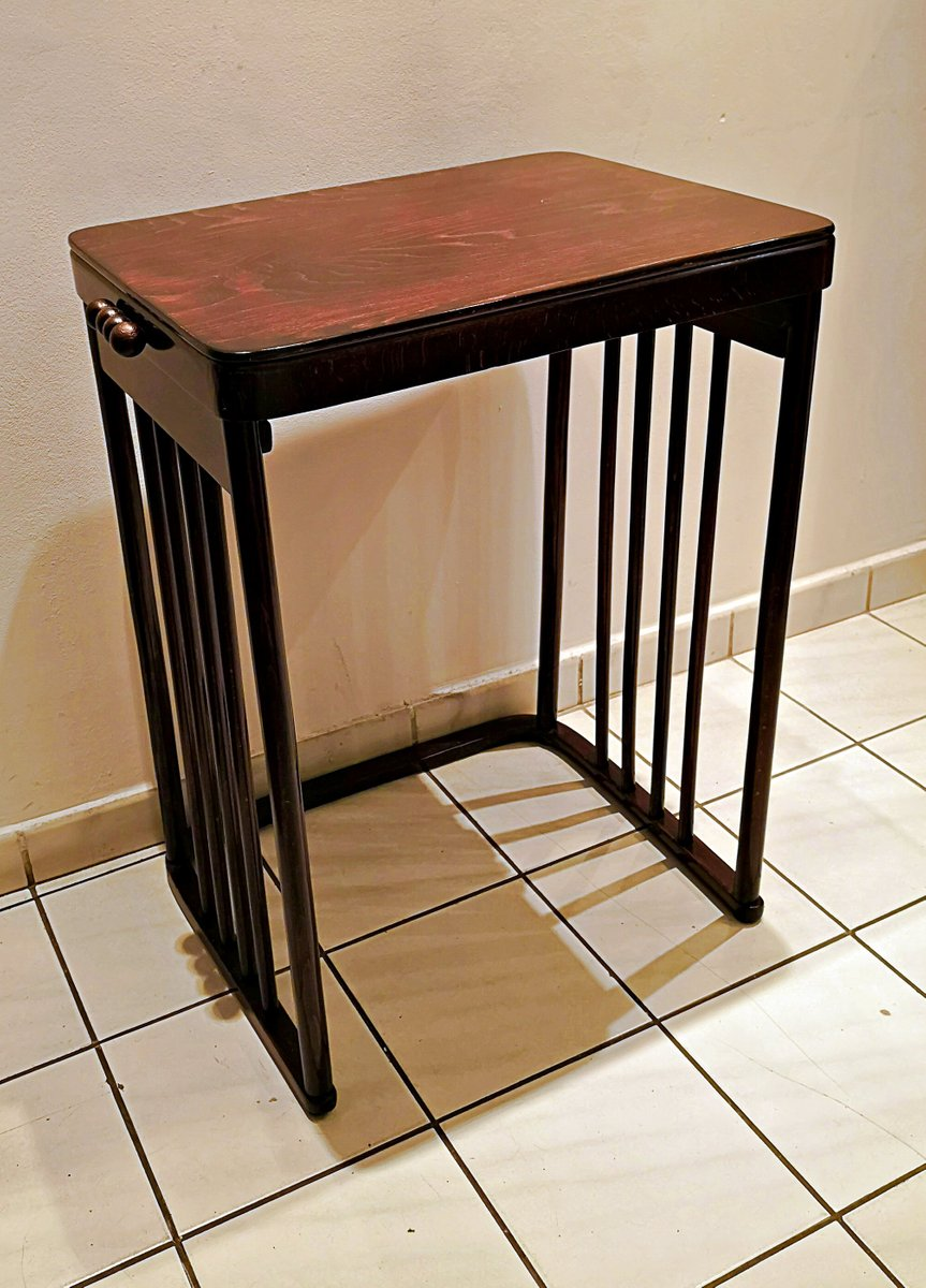 antique side table by josef hoffmann for jacob josef kohn - Antique Side Tables