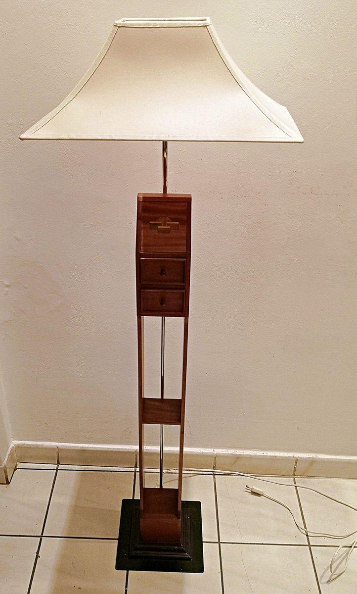 Skandinavische Vintage Stehlampe
