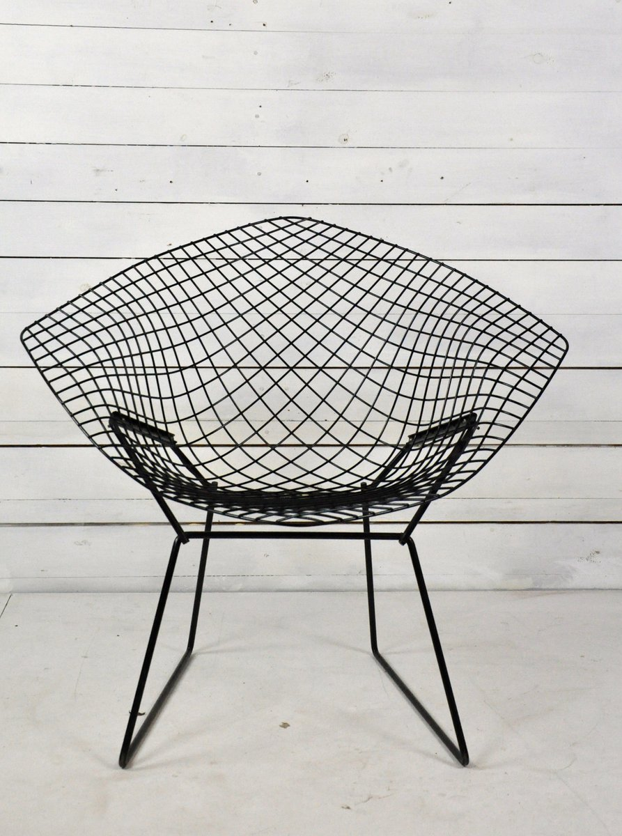 Modell 421 Diamond Stuhl Von Harry Bertoia Für Knoll Inc. / Knoll Inte.