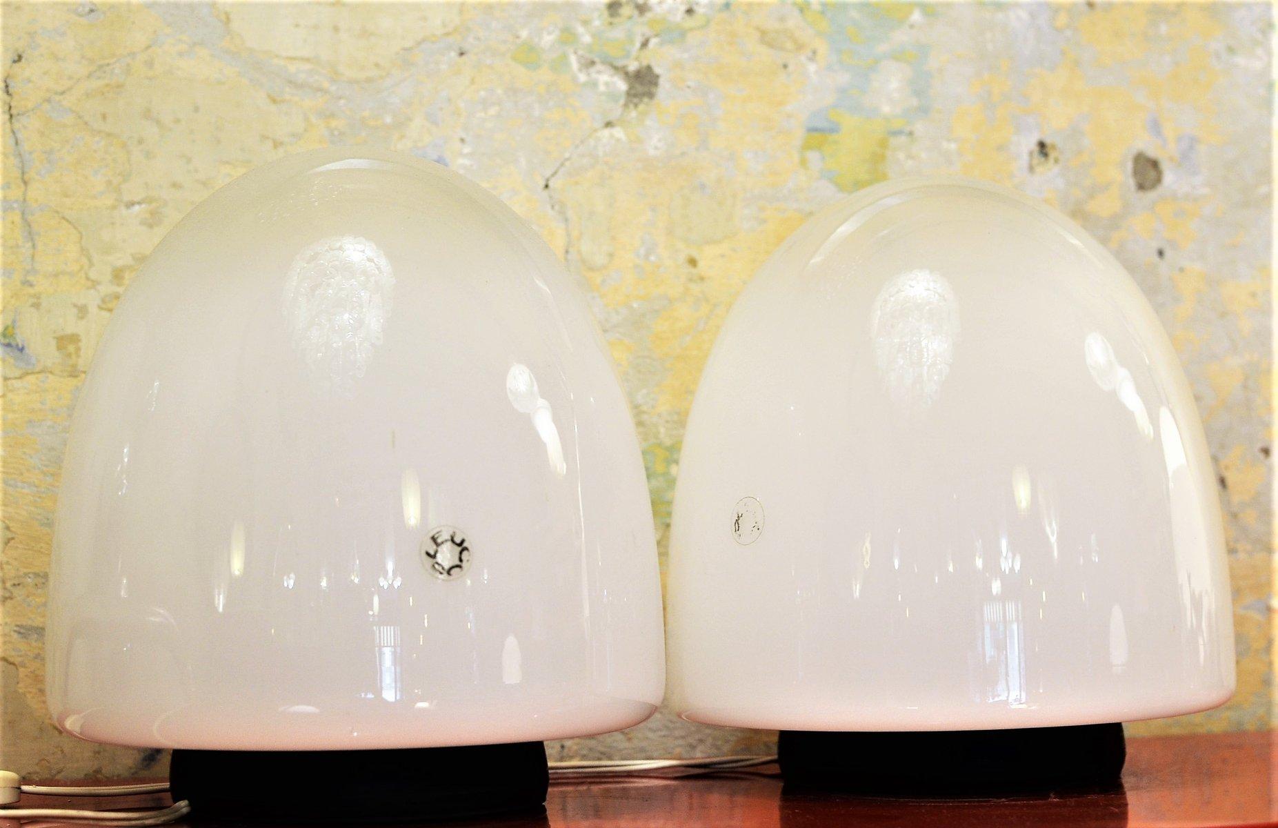 Tischlampen von Giusto Toso für Leucos, 1970er, 2er Set
