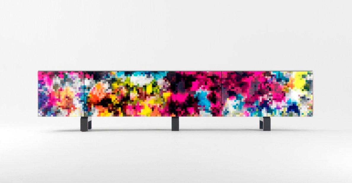 Buntes Dreams Sideboard von Cristian Zuzunaga für BD Barcelona