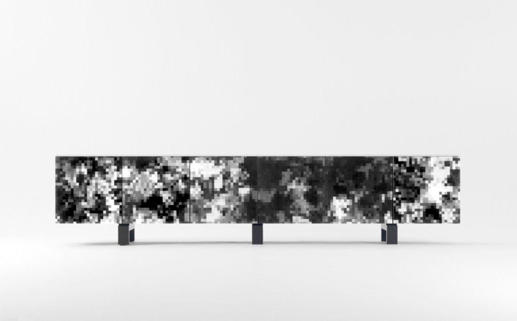 Schwarzes Dreams Sideboard von Cristian Zuzunaga für BD Barcelona