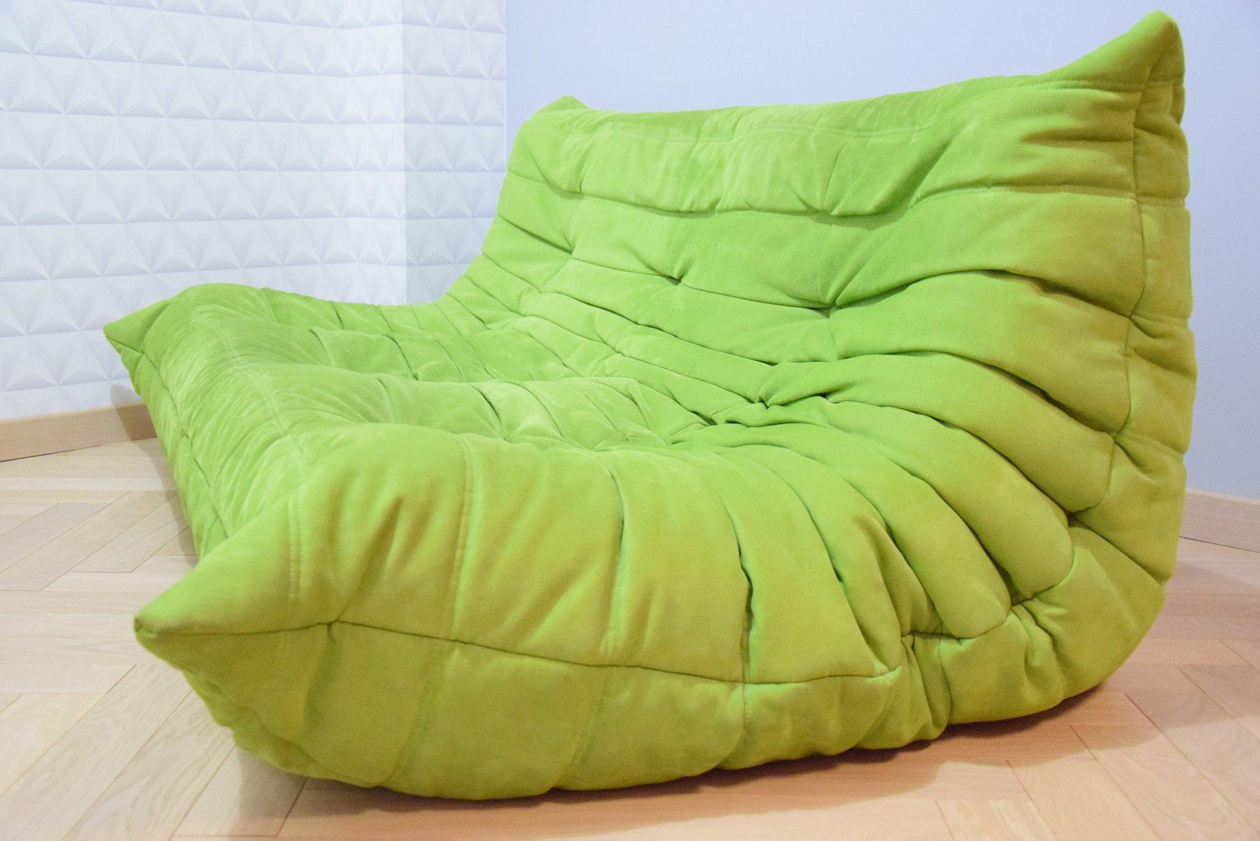 canap togo vintage de ligne roset en vente sur pamono. Black Bedroom Furniture Sets. Home Design Ideas