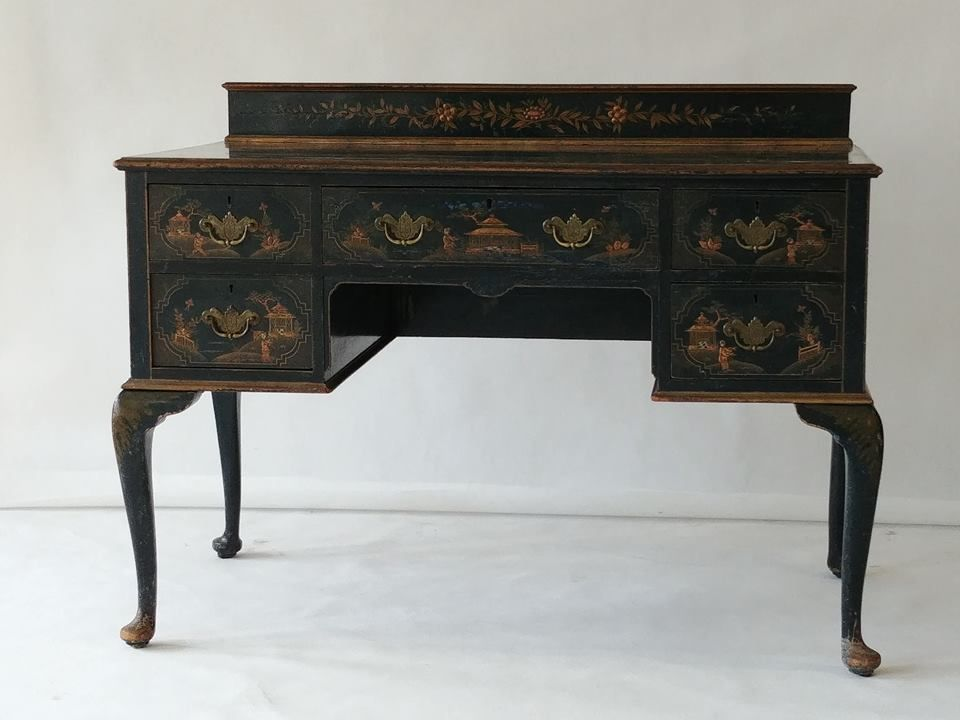 Antique Chinese Desk - Antique Chinese Desk For Sale At Pamono