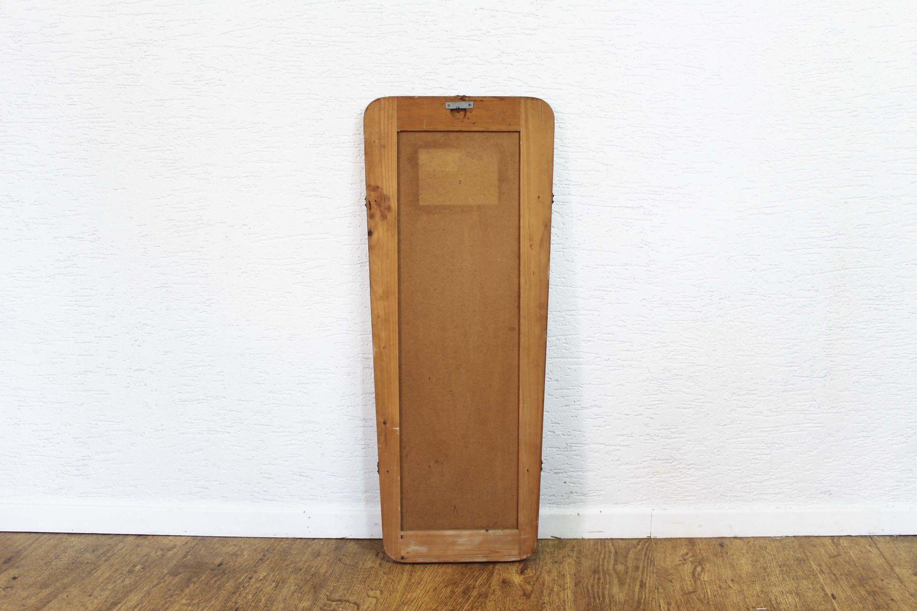 gro er spiegel 1950er bei pamono kaufen. Black Bedroom Furniture Sets. Home Design Ideas