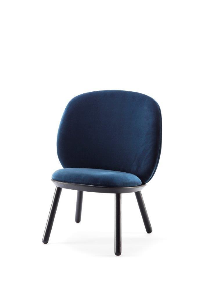 chaise basse nave bleue par etcetc pour emko - Chaise Basse