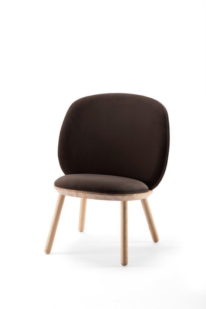 Naïve Stuhl in Braun von etc.etc. für Emko