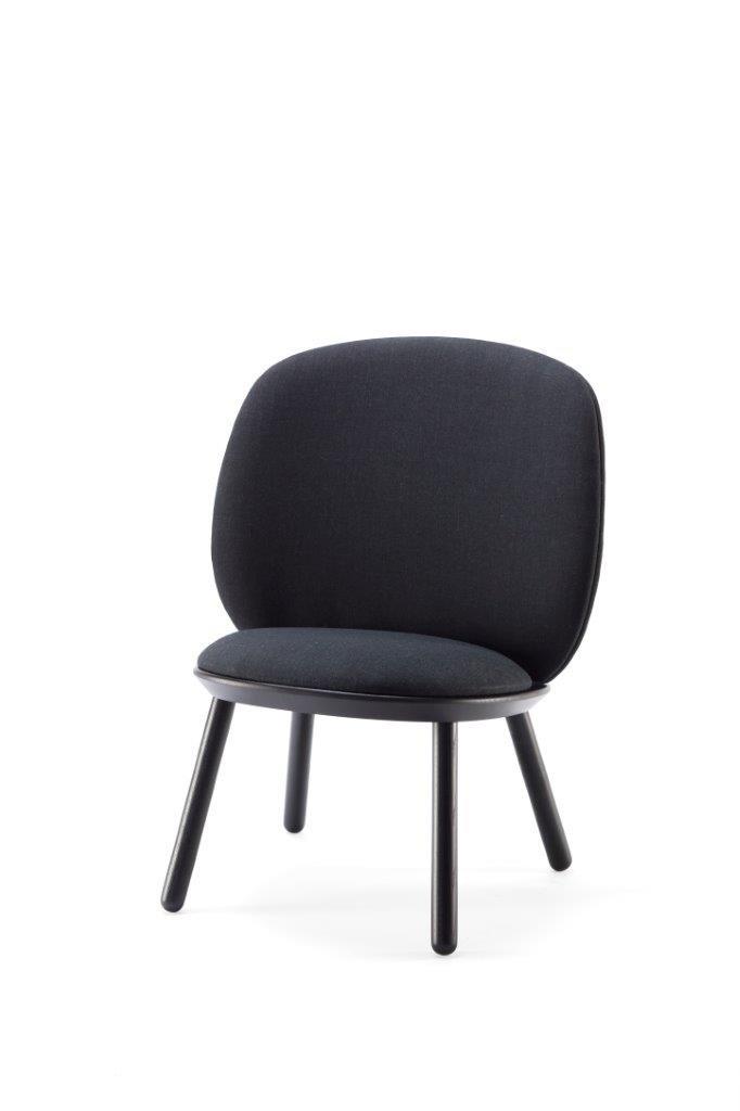 Naïve Stuhl in Schwarz von etc.etc. für Emko