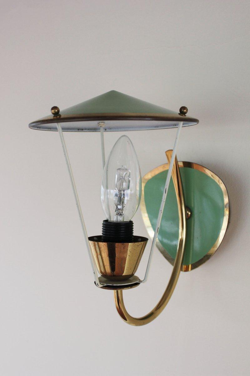Italienische Wandlampe, 1960er