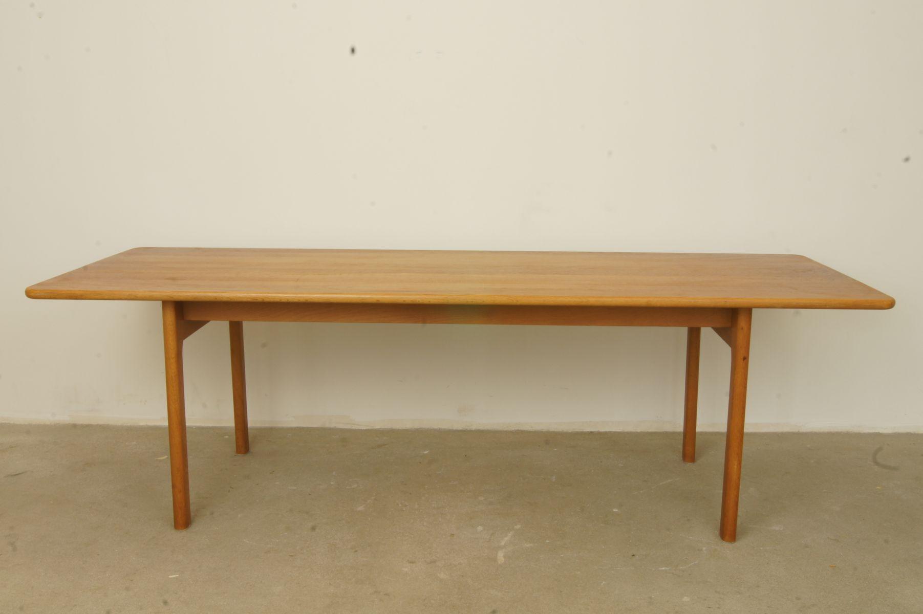 MidCentury Danish Oak Dining Table S For Sale At Pamono - Mid century oak dining table