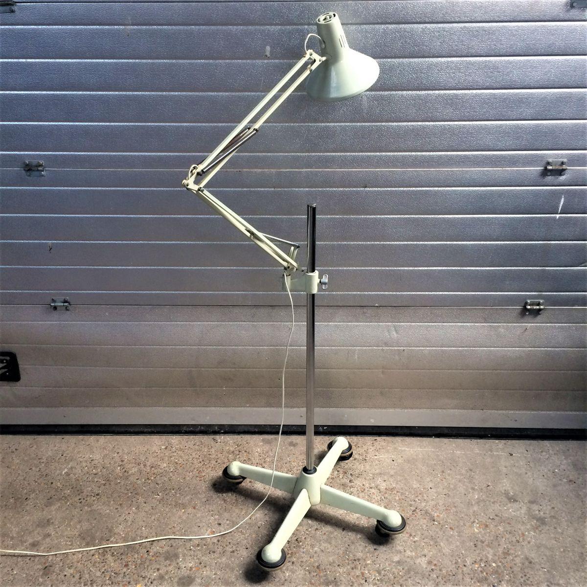 Industrielle Stehlampe, 1950er