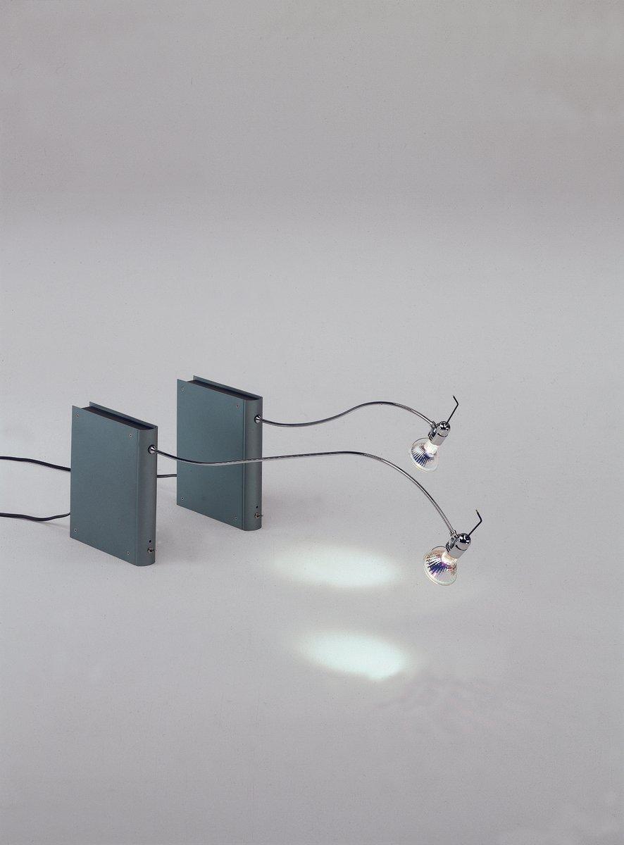 Bib Luz Libro Lampe mit 40 cm Dreharm & LED 6W von Oscar Tusquets Blan...