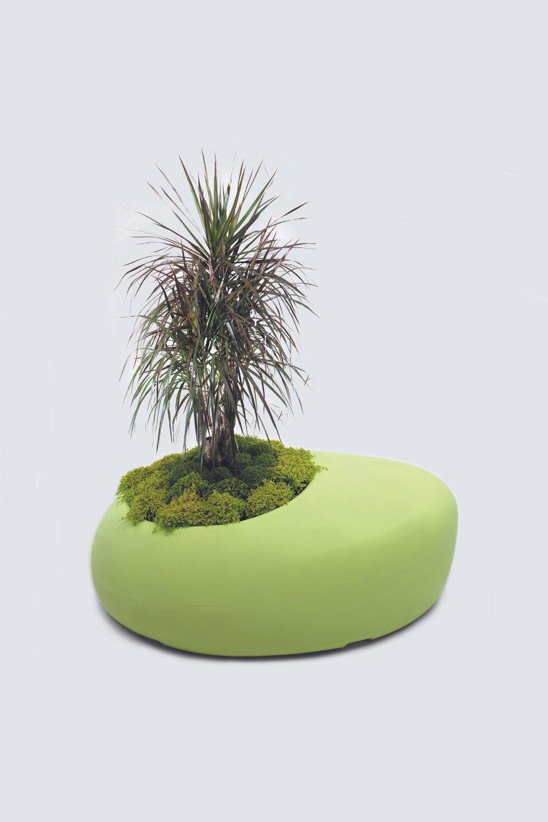 BDLove Pflanzer in Grün von Ross Lovegrove für ...