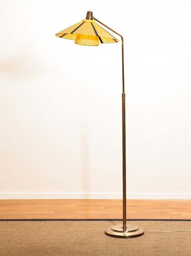 Art Deco Floor Lamp Mesmerizing Swedish Art Deco Floor Lamp For Sale At Pamono
