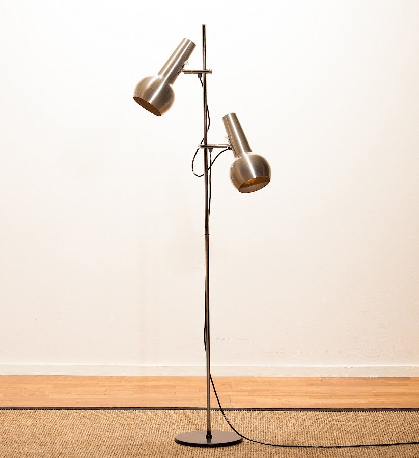 Stehlampe von Koch & Lowy, 1970er