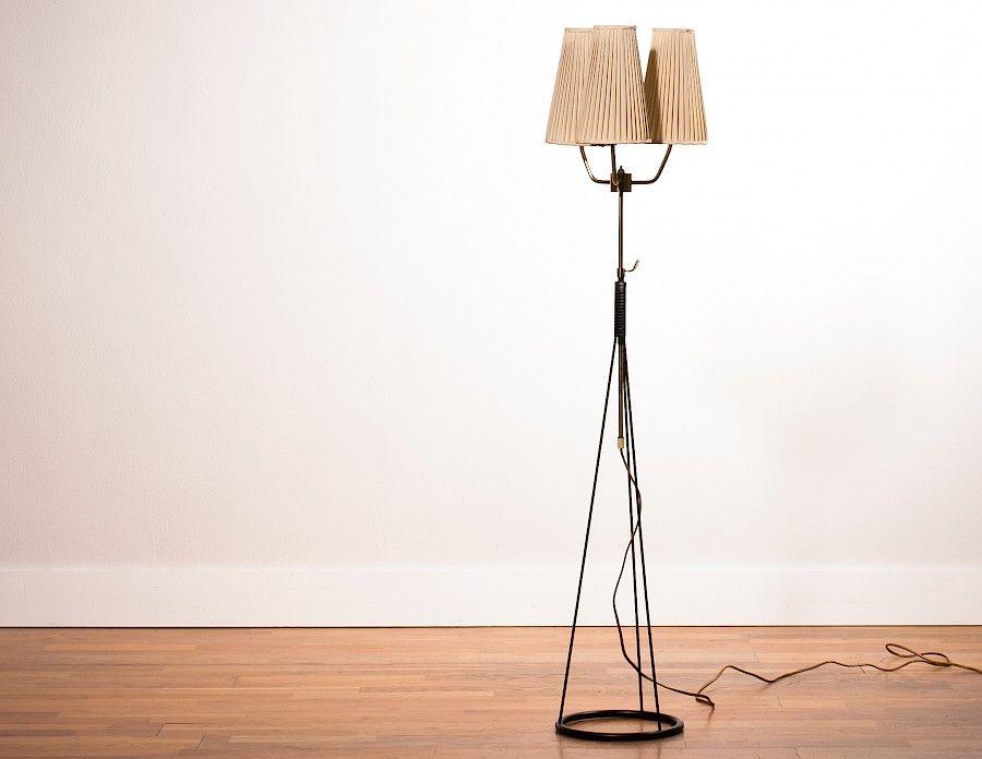 Stehlampe von Falkenbergs Belysning, 1950er