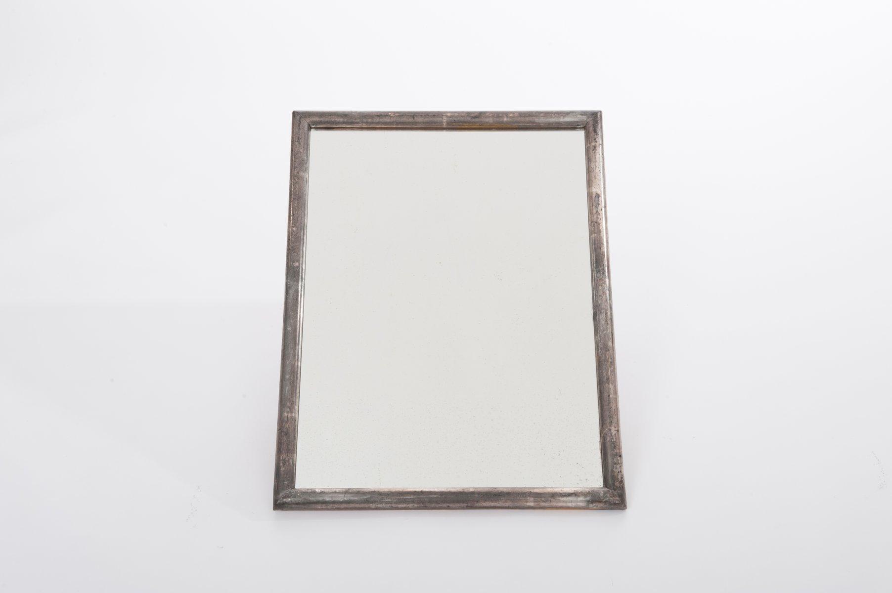 Art Deco Spiegel : Versilberte art deco spiegel er er set bei pamono kaufen