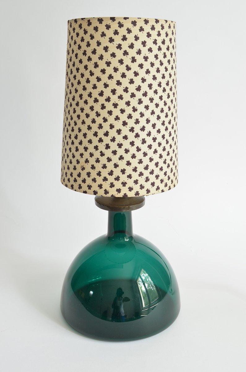 Tischlampe von Holmegaard, 1970er